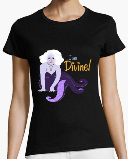 Tee-shirt je suis divine