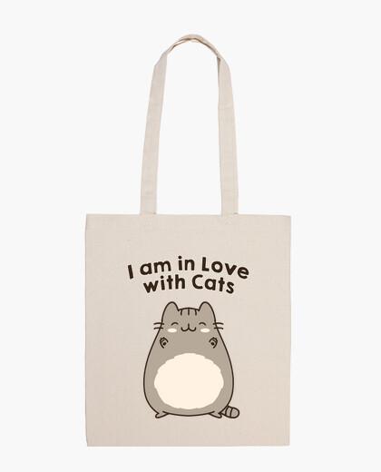 Sac je suis en amour avec les chats