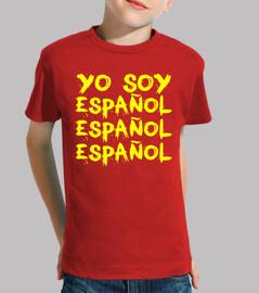 Je suis espagnol