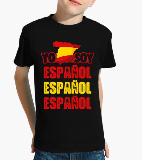 Vêtements enfant Je suis Espagnol Espagnol Espagnol