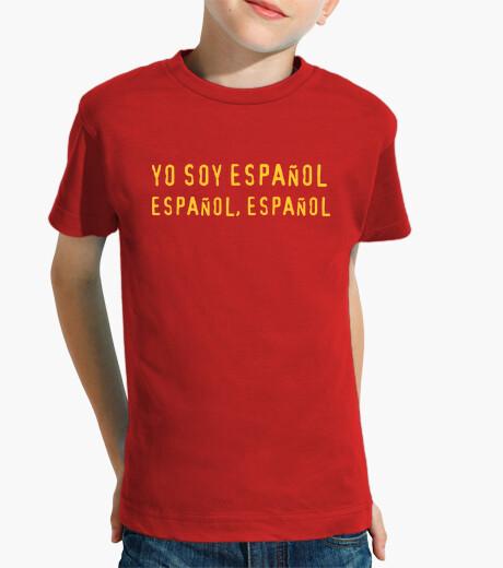 Vêtements enfant je suis espagnol, espagnol, espagnol enfant