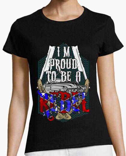 Tee-shirt Je suis fier d'être rebelle