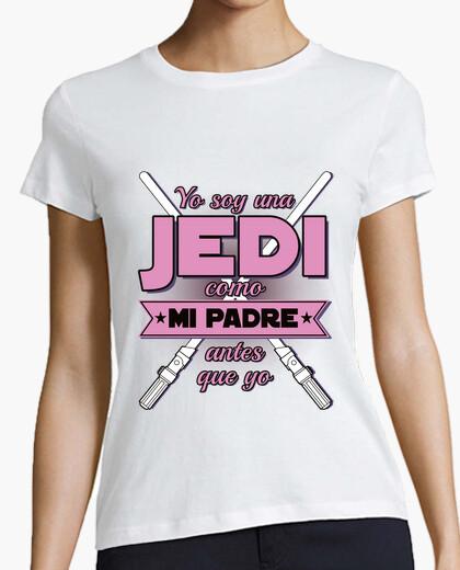 Tee-shirt je suis jedi - rose