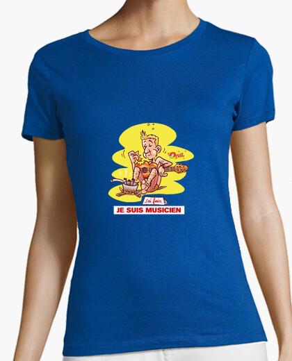 Tee-shirt Je suis musicien
