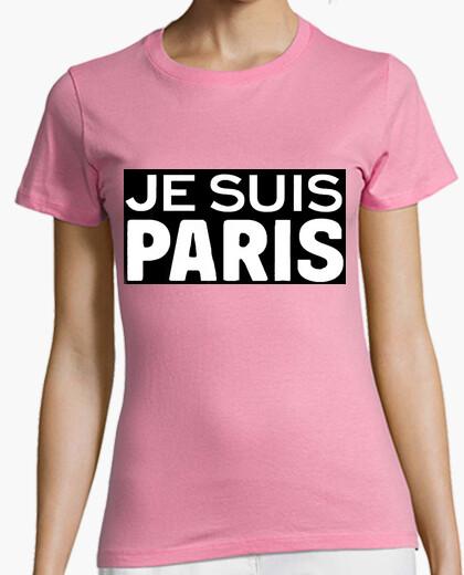 Camiseta Je Suis Paris