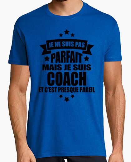 Tee-shirt je suis pas parfait mais je suis coach