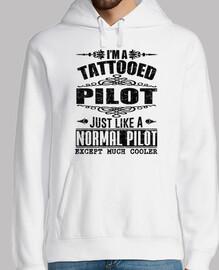 je suis pilote tatoué
