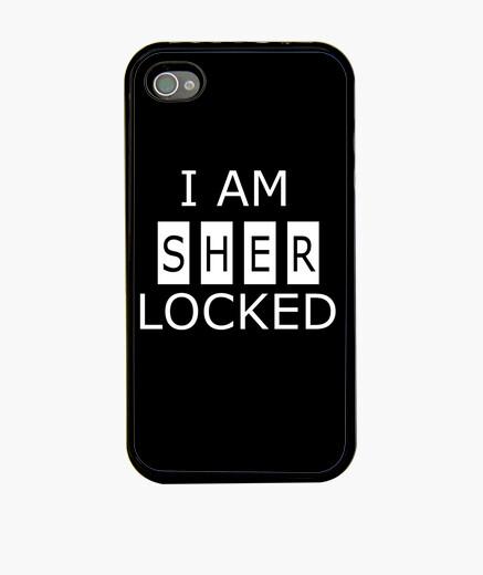 Coque iPhone je suis sherlocked iphone 4