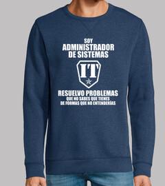 Je suis un administrateur système