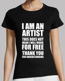je suis un artiste