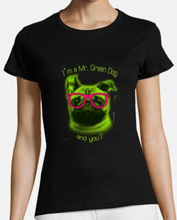 je suis un chien vert êtes - vous?