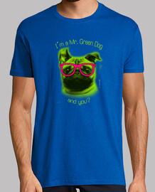 Je suis un chien vert,et vous ?