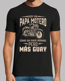 Je suis un papa motard cool