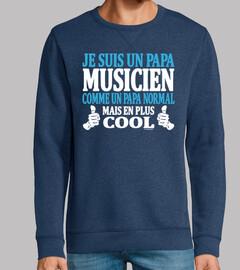 Je suis un papa musicien
