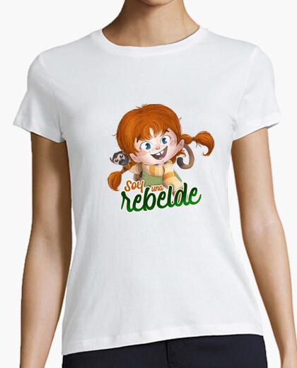 Tee-shirt Je suis un pippi rebelle