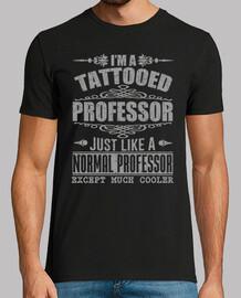 je suis un professeur tatoué