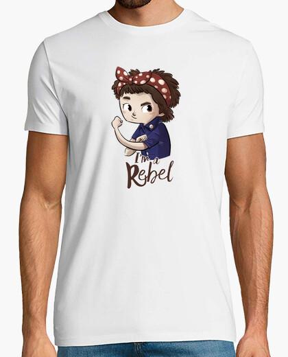 Tee-shirt je suis un rebelle
