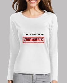 je suis un survivant coronavirus