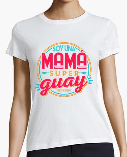 Tee-shirt Je suis une maman superguay