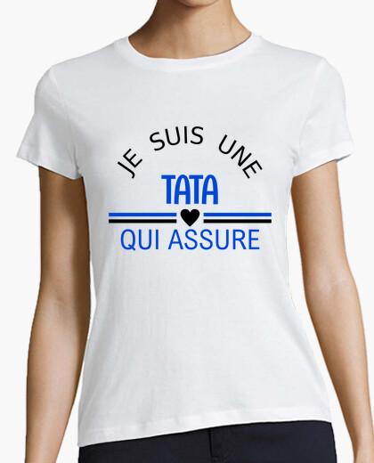 Tee-shirt je suis une tata qui assure