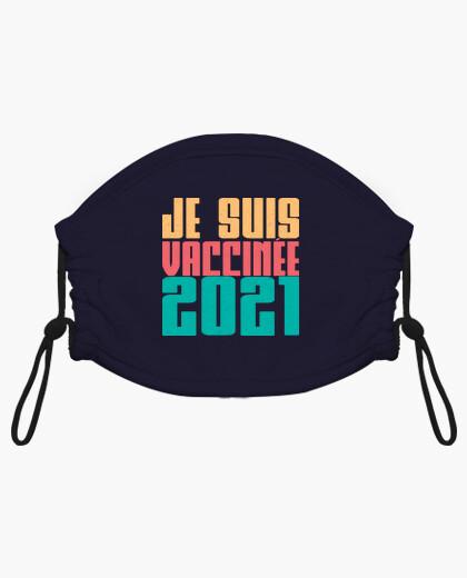 Mascarilla niño Je suis vaccinée 2021 -...