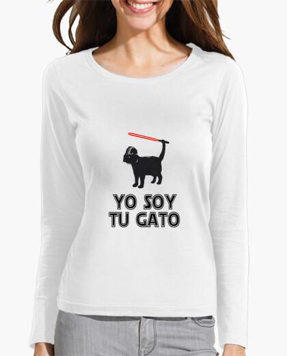 Tee-shirt je suis votre laser chat sabre