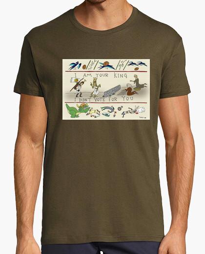 Tee-shirt je suis votre roi!