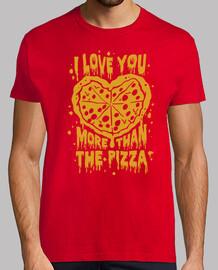 Je t'aime plus que la Pizza !