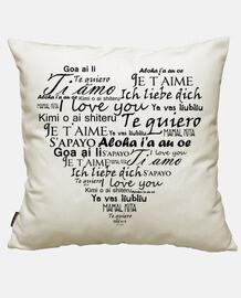 je t'aime en plusieurs langues
