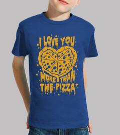 je t'aime plus que la pizza