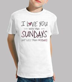 je t'aime plus sundays