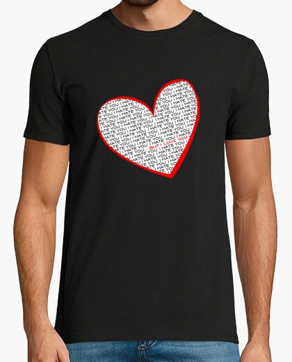 Tee-shirt je te déteste, mais ....