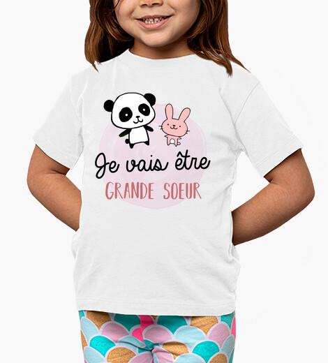 Vêtements enfant je vais etre grande soeur