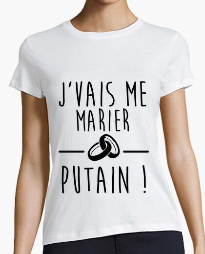 Tee-shirt Je vais me marier ! EVG EVJF
