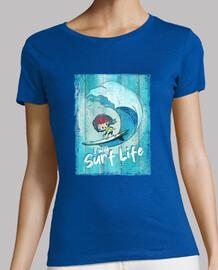 je vais surfer sur la vie