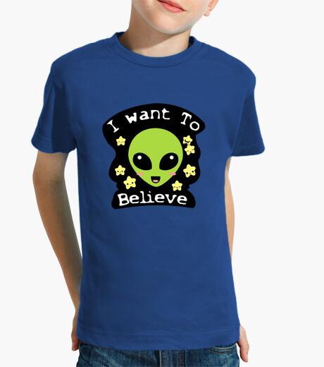Vêtements enfant je veux croire