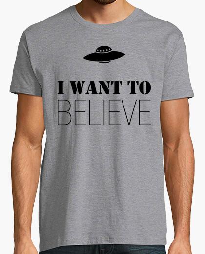 Tee-shirt je veux croire