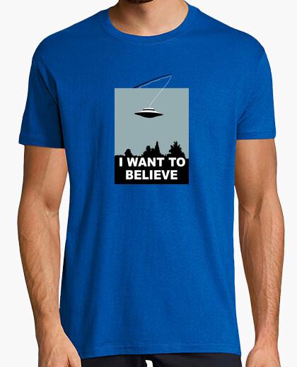 Tee-shirt Je veux croire X files