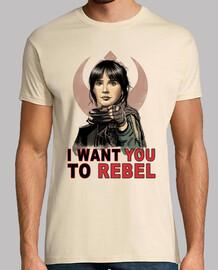 je veux que tu mens shirt rebelles