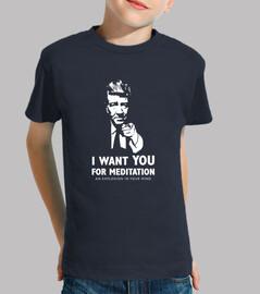 je veux que vous pour la méditation
