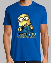 je veux que vous recherchez pour les bananes