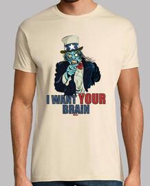 je veux votre brain
