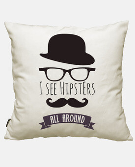 je vois hipsters all autour