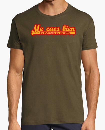 Tee-shirt je vous aime, je vais tuer le dernier © setaloca