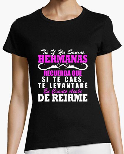 Tee-shirt je vous relèverai fini de rire soeur