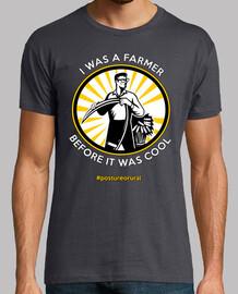 J'étais un agriculteur, avant c'était cool - Shirt Homme