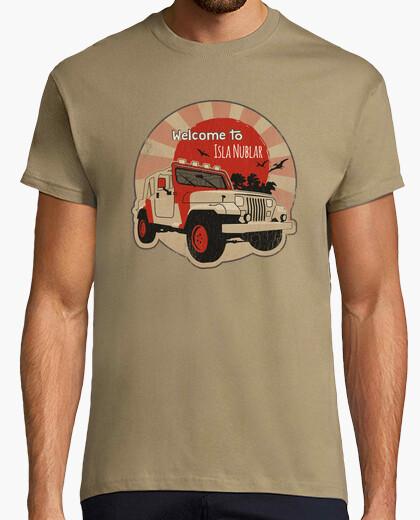Tee-shirt Jeep on Isla Nublar Rond