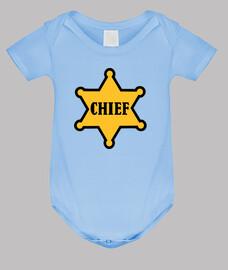 jefe de la estrella del sheriff