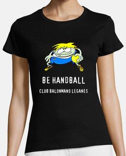 Jeromin-Club Balonmano Leganés Negro Chica