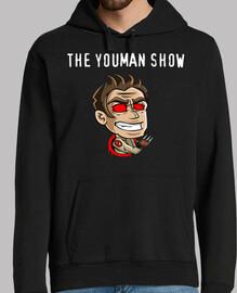 jersey à capuche. youman le canal logo show